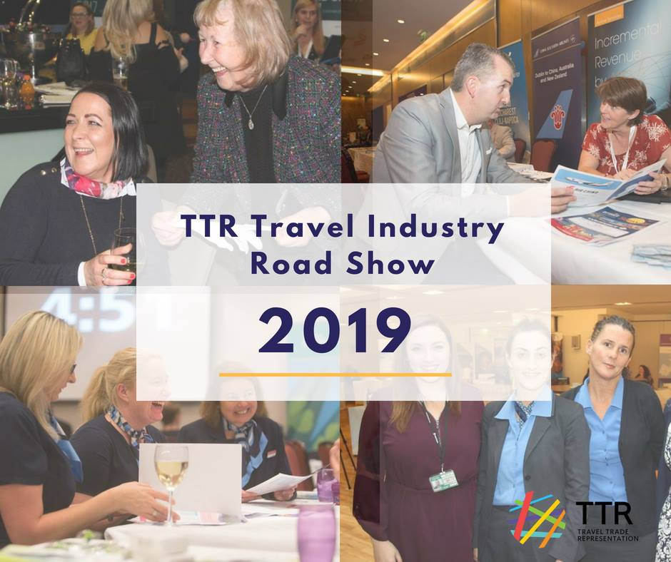 TTR Travel Industry Roadshow 2019 Schedule - TTR